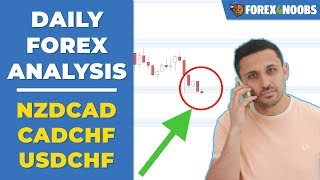 NZDCAD Stalling on Support + 2 More Potentials! (Price Action Analysis 2019-04-23)