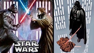 Why Vader was TERRIFIED After His Duel with Obi-Wan in A New Hope! (Legends)