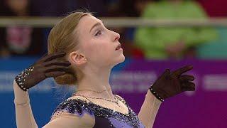 Короткая программа Девушки Первенство России по фигурному катанию среди юниоров 2021