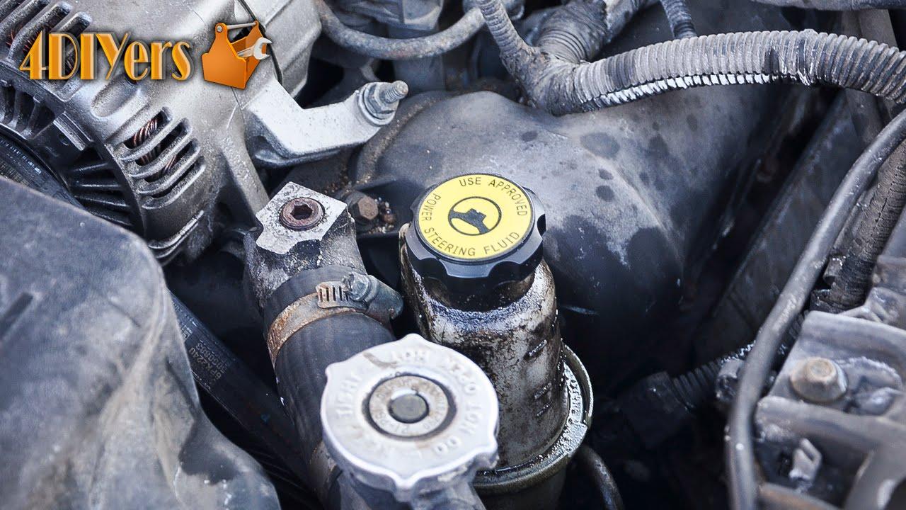 medium resolution of diy dodge dakota power steering reservoir pressure issue repair youtube