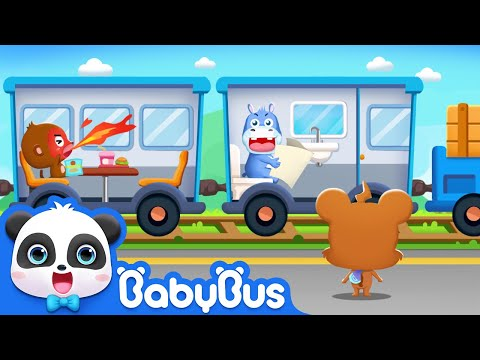 Emergency! Send Monkey to Hospital | Baby Panda Learns Transport | BabyBus Game