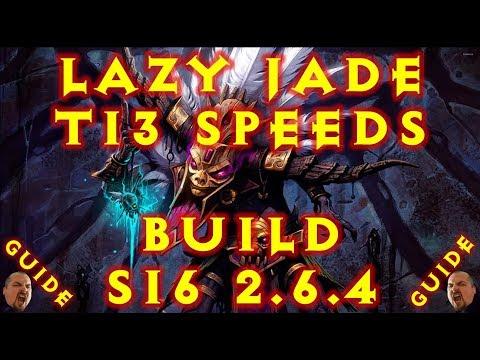 Diablo 3 S16 Lazy Jade T13 Speeds Witch Doctor Build 2.6.4