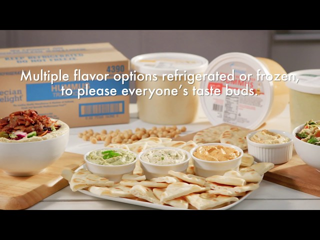 How It's Made: Grecian Delight Hummus