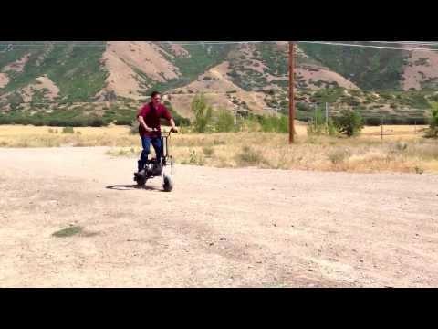 Boyerbuilt scooter wheelie fun