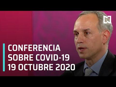 Conferencia Covid-19 en México - 19 octubre 2020