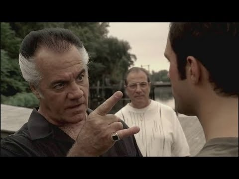Paulie Warned Jason Barone - The Sopranos HD