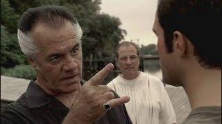 Paulie Warned Jason Barone - The Sopranos HD