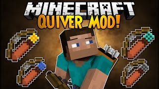Minecraft Mod Showcase: QUIVER MOD! - Trick Arrows!