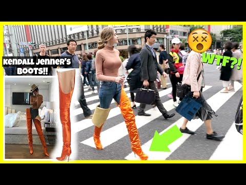 Thumbnail: I Wore Kendall Jenner's Boots For A Day