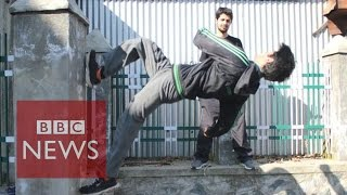 Kashmir freerunning: Finding freedom in the art of parkour