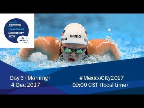 World Para Swimming Championships | Mexico City 2017 | Day 3 Morning