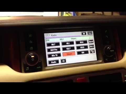 Help? 2005 Range Rover Radio Problem - YouTube