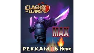 Level 8 Pekka gameplay clash of clans
