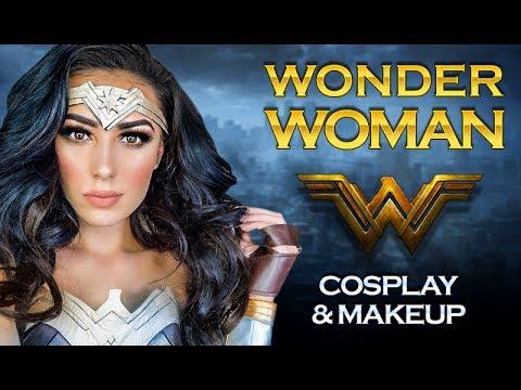 WONDER WOMAN | Gal Gadot Makeup Tutorial | Cosplay | Victoria Lyn Beauty