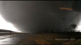 illinois tornado april 9 2015 crazy footage video by sam smith