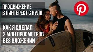 Продвижение в Пинтерест на русском: обучение с нуля (Урок 1)