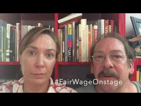 Elizabeth Marvel & Bill Camp FairWageOnstage