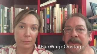 Elizabeth Marvel & Bill Camp #FairWageOnstage