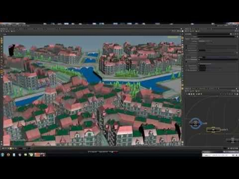 procedural cities houdini 2 - YouTube