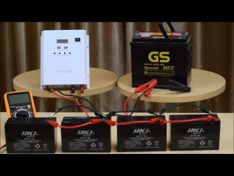 How To Connect Batteries In Series And Parallel Part 1 2
