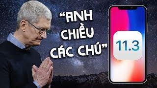 iOS 11.3: Apple đã phải theo người dùng?