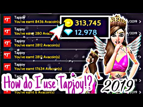💐😍💸 How Do I Make Good MONEY From TAPJOY 2019 ⁉️ 🤔💸 | Avakin Life | Avakin Trinity