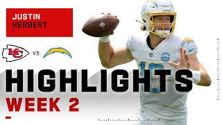 Herbie Fully Loaded! Every Justin Herbert Completion in 1st NFL Game | NFL 2020 Highlights