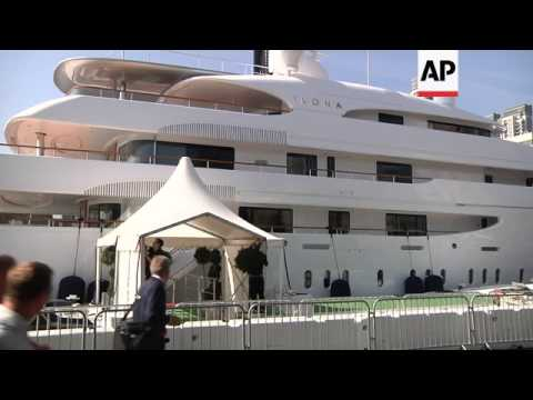 Olympic party time on the superyachts moored in London for the Games