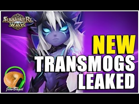 SUMMONERS WAR : NEW Transmogs Leaked (December 2017)