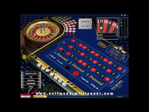 Video Roulette tisch tricks
