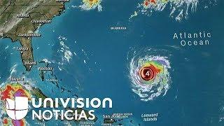 Florence se convierte en un huracán de categoría 4