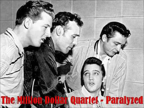 Million Dollar Quartet - Paralyzed (Slow Version from Informal Studio Recording, 1956)