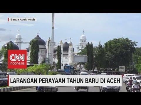 Larangan Perayaan Tahun Baru di Aceh
