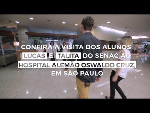 Visita ao Hospital Alemão Oswaldo Cruz em São Paulo