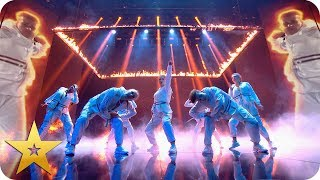 Hip-hop dance crew bring The Fire | BGT: The Champions