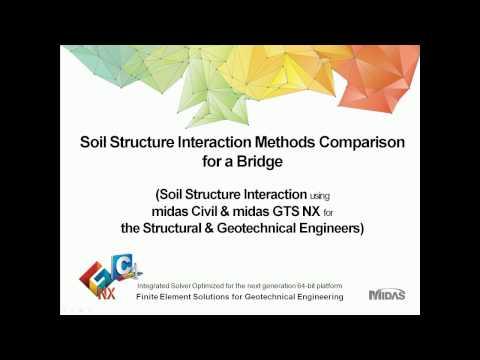 Soil Structure Interaction Methods Comparison for a Bridge
