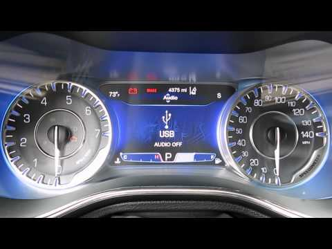 2015 Chrysler 200 Gauge Settings And Console