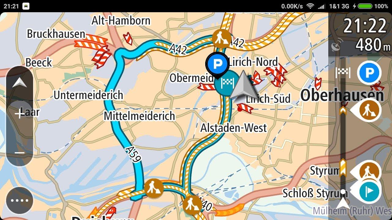 PART 1/5: TomTom Go Mobile vs  Mapfactor vs Navigon vs Sygic gps navigation  app 2018 Review