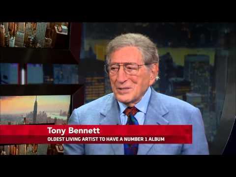 Tony Bennett - Interview on PBS NewsHour (10/24/2014) [Full]