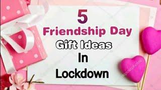 DIY Friendship Gift Ideas for Best Friend in Lockdown   Friendship Day Gift Ideas 2020 Handmade easy