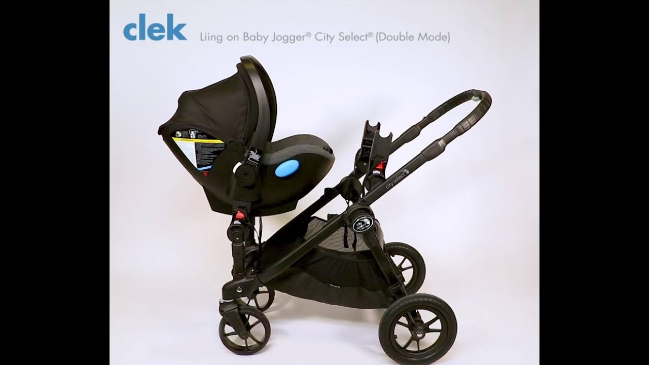 Baby Jogger City Select Double Mode Clek Liing Infant Car Seat