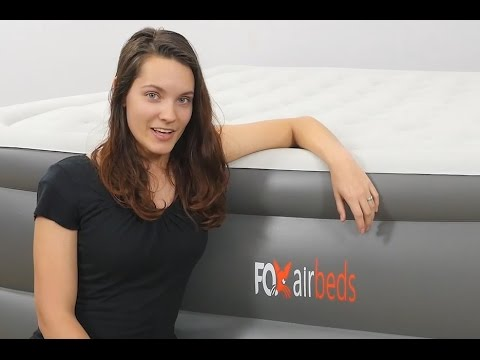 Voted #1 King & Queen Air Mattress For Size, Comfort and Durability - Congratulations Fox Air Beds