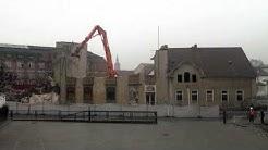 Abriss des Deutschen Theaters in Spremberg