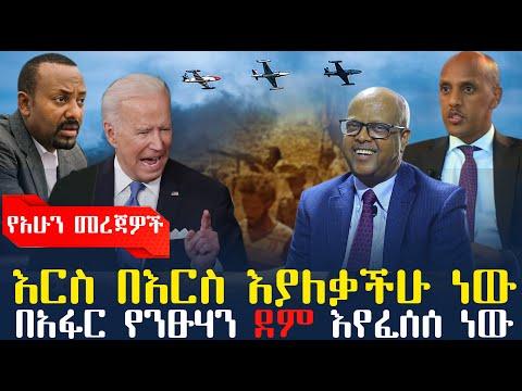 Ethiopian News:ሰበር ዜና እርስ በእርስ እያለቃችሁ ነው/ በአፋር የንፁሃን ደም እየፈሰሰ ነው