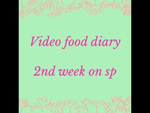 Week 2 food diary on slimming world sp