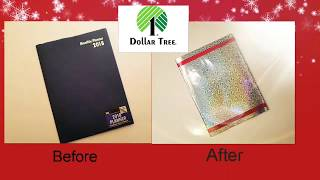 Gambar cover 2018 Dollar Tree Planner Upgrade!!!! Affordable for all!!!