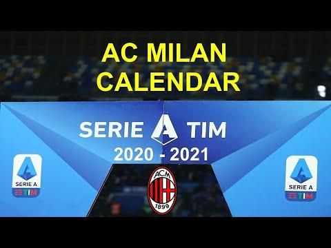 A3 AC Milan Offizieller Fu/ßballkalender Serie A 2021