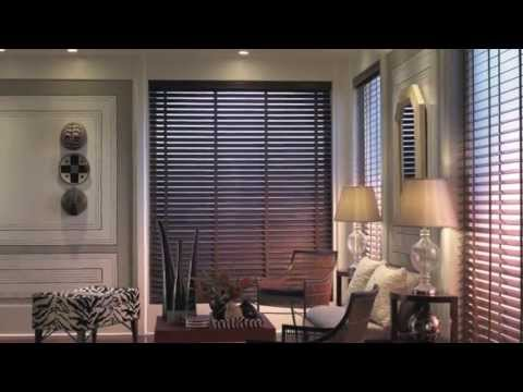 BLINDS AND SHADES: blindsgalore; Signature Line of Wood Blinds