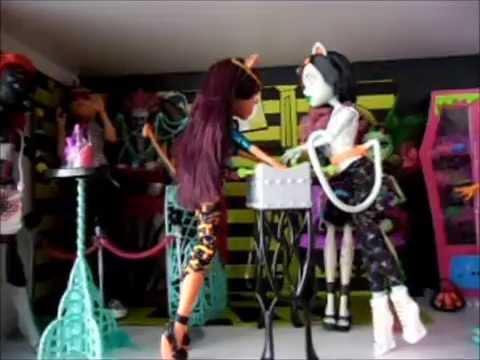 Monster high mes cadeaux de no l youtube - Monster high noel ...