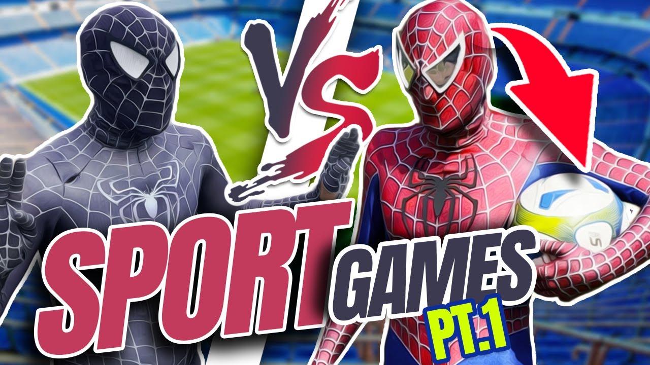 Spider-Man Vs. Venom FOTBALL BATTLE IN REAL LIFE !  (FUNNY)